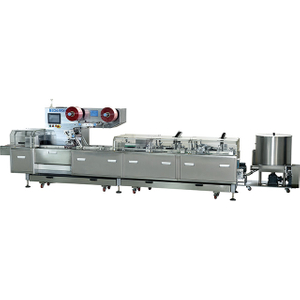 Fully Automatic Sandwiching And Pillow Packing Machine