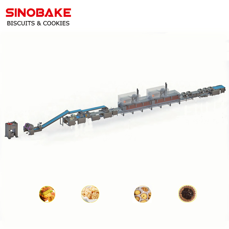 Multi-function Cookies Combination Production Line
