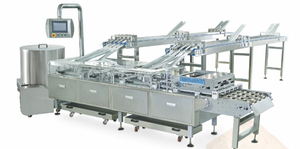 Automatic Four Lane High Speed Sandwiching Machine
